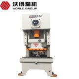 Fabricante de China da série Jh21 placa de metal de 125 toneladas que carimba a máquina do perfurador