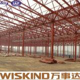 Pasillos/taller/almacén de la estructura de acero del calibrador de la luz del palmo grande