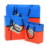 Sacos de papel com seus próprios logotipo e sacos do papel de embalagem de Brown