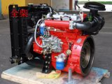 Het water koelde Kleine Mariene Dieselmotor