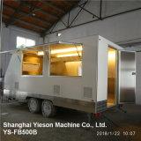 Ys-Fb500b blanc 5 m d'aliments Mobile camion remorque alimentaire mobile