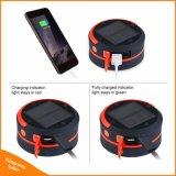 USB를 가진 접을 수 있는 태양 야영 손전등 가벼운 재충전용 LED 플래쉬 등 토치 램프