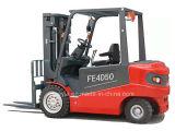Rad-sitzen sich elektrischer schwerer Gabelstapler-Traktor-LKW des China-Fabrik-Preis-4-5t 4 für hin