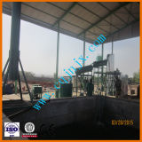 Petróleo Waste de preço de fábrica à refinaria Diesel da destilação do petróleo do motor de automóveis usado da planta