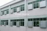 ZonneMuur van de Serre van Foshan zette de Industriële Ventilator de Zonder bladen van de Uitlaat op