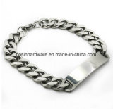 Acero inoxidable frenar Link Chain Bracelet