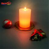 Geänderte LED Kerze des Paraffinwachs-Farbe ohne Batterie