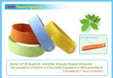Bracelet normal de produit répulsif de moustique de Microfiber d'huile essentielle