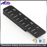 La coutume d'usinage CNC en alliage en aluminium de précision de la partie de capteurs d'emballage