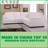 L reale insieme del sofà del salone della base della mobilia del cuoio del coperchio