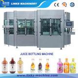 Máquina de relleno y que capsula del zumo de fruta automático de la alta calidad
