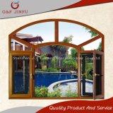 Perfil de aluminio multifuncional Casement toldos ventanas con doble vidrio