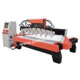 高品質Zs2018-1h-8s木製CNCの打抜き機