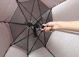 نمو مستقيمة لعبة غولف [سون] مروحة مظلة مع عمل صامد للريح