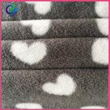 Panno morbido polare stampato 100% del poliestere di alta qualità micro per gli indumenti dei bambini