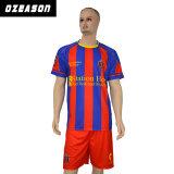 Conception sans réversible Subliamtion kit de football de Soccer Jersey