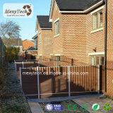 紫外線抵抗の特許を取られた製品の屋外のプライバシーの庭WPCの塀