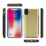 LG G5 G6のためのTPUのパソコンの電話箱21のLG G5 G6のためのワイヤーデッサンの穀物のカードケース