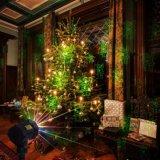 Лазерный свет в саду рождественские украшения для использования вне помещений