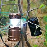 Camping lampe solaire avec USB et chargeur de batterie rechargeable 3 voies