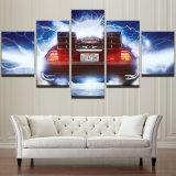 Abstraktes Panel-Film-kühles Auto-Plakat des Segeltuch-HD gedrucktes anstreichendes Wand-Kunst-Öl-Bilderrahmen-5 für Wohnzimmer-Ausgangsdekor