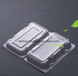 Último projeto de embalagens de plástico de PVC Pet biodegradáveis frutos de Retalho Contentores Caixas Alimentar Snacks a bandeja