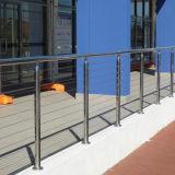 층계 발코니를 위한 건축 스테인리스 발코니 철사/케이블 방책