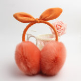 Neues Art-Kaninchen-Pelz-Ohr verpfuscht Winter-Ohr-Muffe-Wolle-Ohr-Wärmer