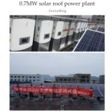 80W TUV/Ce/IEC/Mcs ha approvato il modulo solare monocristallino nero utilizzato per l'indicatore luminoso di via solare