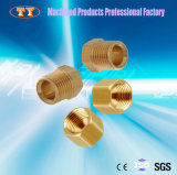Matériel de précision en laiton tuyau à filetage interne et externe du raccord de tube