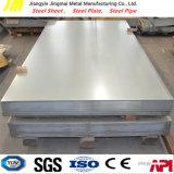 Aplicación de la placa del envase y alteración por los agentes atmosféricos de la placa de acero de Corrision