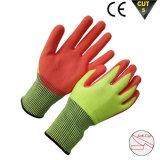 Перчатки Hppe покрытия нитрила Sandy отрезали упорную перчатку работы