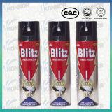 Jet d'insecticide de pesticide de ménage de jet de tueur d'insecte d'insecte de bâti d'attaque éclaire