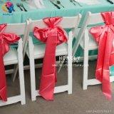인기 상품 까만 백색 옥외 정원 수지 접는 의자 Hly-RS030