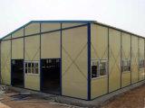 Helle Stahlkonstruktion Indurstrial vorfabriziertes aufbauendes Workerhouse