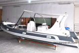 Liya 20feet China-touristische Boote des Familien-Boots-Rippen-Boots-620