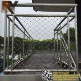 Balcón de la Escalera de acero inoxidable barandilla Helideck malla suspensión puente