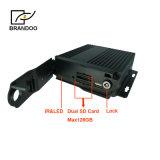 1080P Mdvr 4CH HDはカード移動式DVRトラックバスタクシーのためのSDの二倍になる