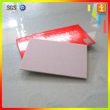 Tarjeta del panel compuesta de aluminio de la muestra del ACP
