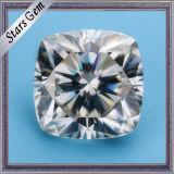 GH dichtbij de Witte Diamant van Moissanite van de Besnoeiing van het Kussen op Verkoop