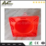 Widey Gebrauch-Verkehrssicherheit-Leuchtstofforange Belüftung-Verkehrs-Kegel