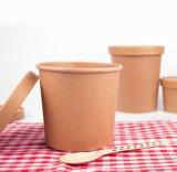 Мире биоразлагаемую бутылку для для бумаги суп тумблерный экологически безопасные горячий суп крафт-бумаги или наружное кольцо подшипника