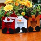 Jouet à la maison de Bohème en gros de Noël de sac de cadeau de décor