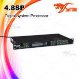 4.8p 4 Inputs 8 обработчик диктора выходов DSP цифров тональнозвуковой