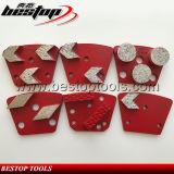 De geschikte Malende Plaat van de Diamant van de Machine voor de Concrete Vernieuwing van de Oppervlakte van de Vloer