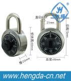 Serratura circolare dell'armadio di ginnastica di combinazione della manopola con la chiave della m/c (YH1266)