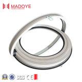 Indicador redondo de alumínio com vidro dobro
