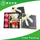 Fabricante profesional de alta calidad de lujo Plaza personalizado Embalaje Pape Caja de regalo de flores