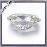 極度の白い楕円形の切口は氷の切口のMoissaniteのダイヤモンドを押しつぶした