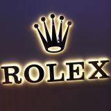 Lumière éclairée à contre-jour par métal Box&#160 ; signes de lettre de 3D DEL pour la publicité d'hôtel